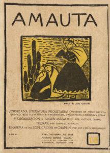 Julia Codesido. Amauta 18. Lima, octubre de 1928. Archivo José Carlos Mariátegui.