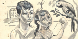 Archivos Familia Núñez Carvallo Proporcionadas por Casa de la Literatura para el catálogo Mi Casa es Linda