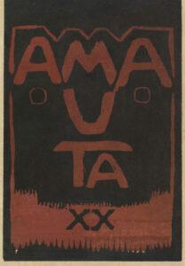 José Sabogal. Xilografía. Amauta 20. Lima, enero de 1929. Archivo José Carlos Mariátegui.