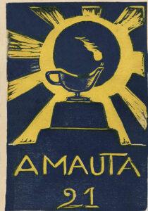 José Sabogal. Xilografía. Amauta 21, Lima, febrero-marzo de 1929. Archivo José Carlos Mariátegui.