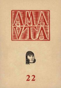 José Sabogal. Xilografía. Amauta 22. Lima, abril de 1929. Archivo José Carlos Mariátegui.