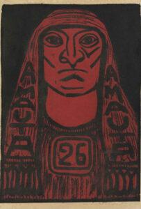 José Sabogal. Xilografía. Amauta 26. Lima, septiembre-octubre de 1929. Archivo José Carlos Mariátegui.