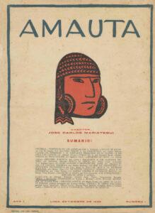 José Sabogal. Cabeza de Indio (Xilografía). Amauta 1, Lima, septiembre de 1926. Archivo José Carlos Mariátegui.